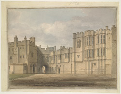 Elizabeth Woodville''s Gallery, Windsor Castle